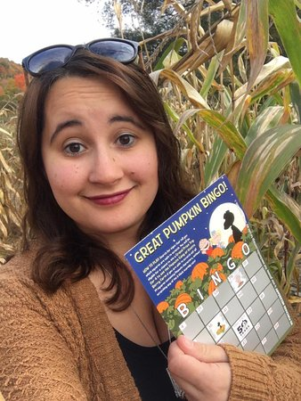 Great Valley, État de New York : Charlie Brown Bingo in the corn maze