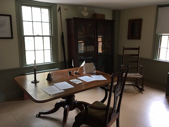 Pittsfield, MA: Melville's study, where he wrote Moby Dick.