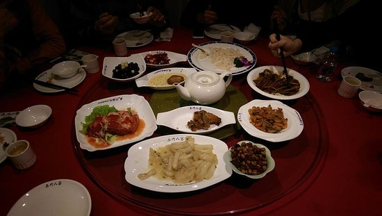 Wu MenRen Jia (Pan Ru Xiang) : 滿桌的蘇幫菜