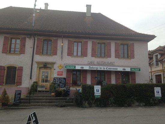 Auberge de la Couronne, Fiez