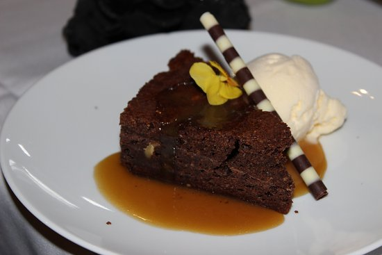 Pickering Brook, Austrália: Chocolate and peanut butter brownie (GF)