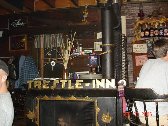 Finland, มินนิโซตา: Interior of Trestle Inn