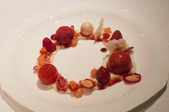 Jean Georges: Strawberry tasting