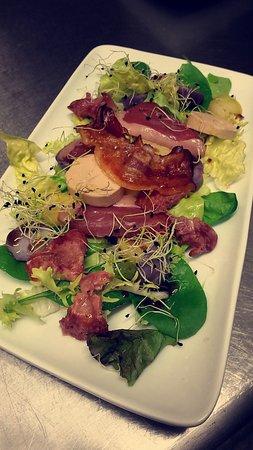 Luneville, France: Salade landaise