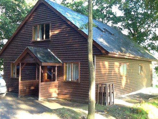 Garthmyl, UK: Log cabin
