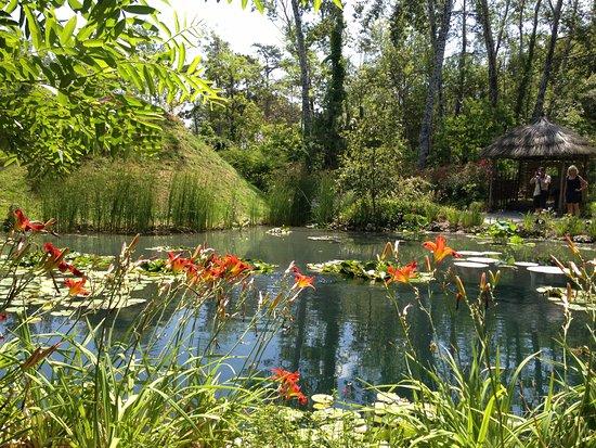 Centre-Val de Loire, France : One garden