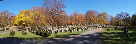 Auburn, État de New York : Fort Hill Cemetery