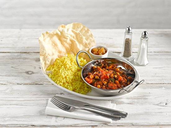 Needham Market, UK: CHICKPEA CURRY