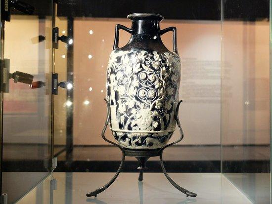 Il vaso blu foto di museo archeologico nazionale di for Vaso blu