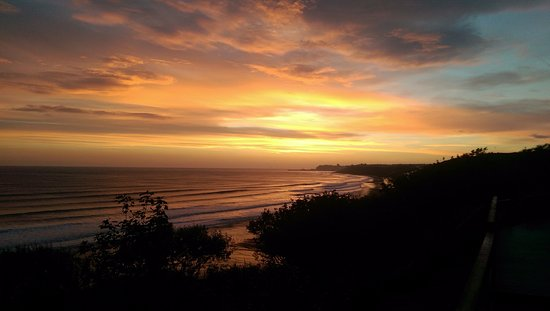 Sandsend, UK: Sunrise from the balcony
