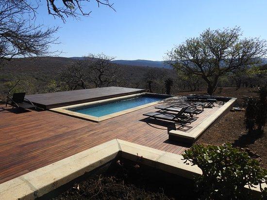 Mkuze, Sudáfrica: zwembad van Mavela Game Lodge
