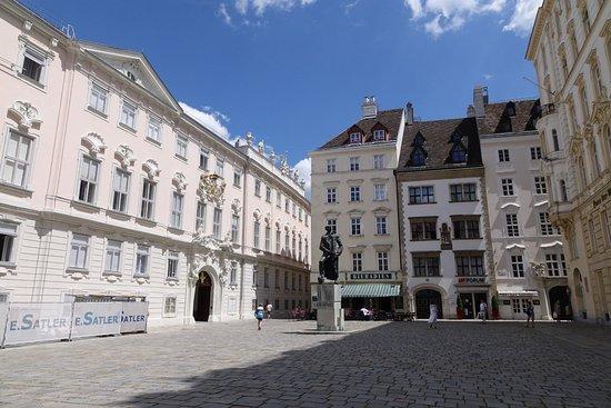 Judenplatz: Lessingdenkmal
