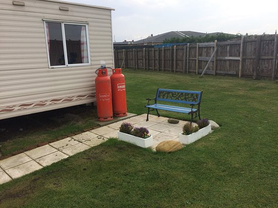 Newbiggin-by-the-Sea, UK: Some photos from our caravan. Very impressed and immaculately clean. Thoroughly enjoyed our stay