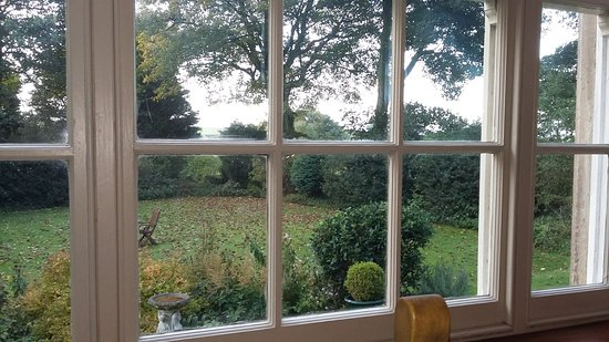 Wetton, UK: View from the breakfast room window