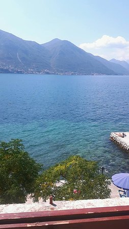 Hotel Pana Kotor : This is the main view from our room