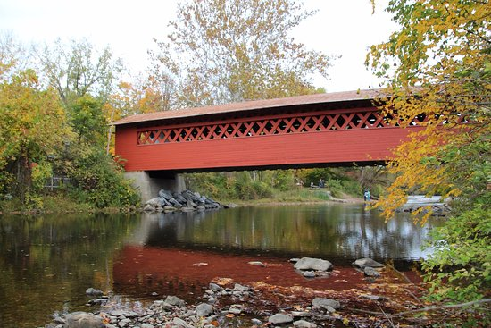 Bennington, VT: Taken from the river bank