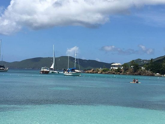 Water Island, St. Thomas: view from the bar!!