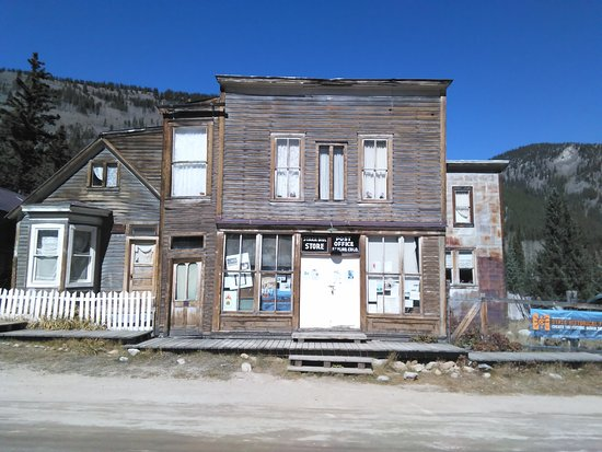 Nathrop, Колорадо: St. Elmo, Colorado Post Office