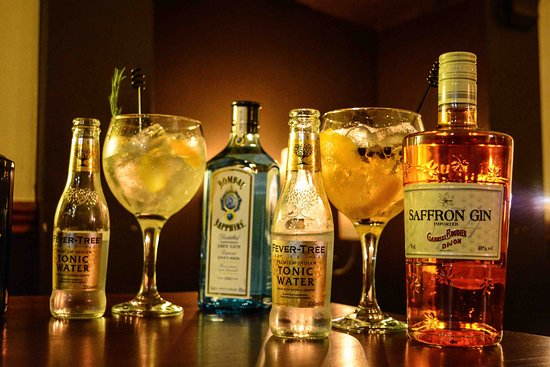 The Terrace Tapas & Wine Bar: The best gins, served as they should be