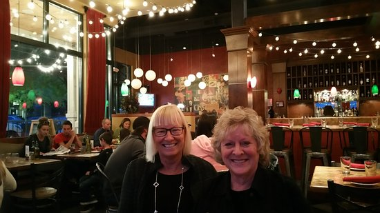 Eagle, CO: Kay & my wife Jeanne at Luigi's Pasta House