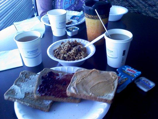 Bridgewater, NJ: Toast and Cereal...DAT'S IT!