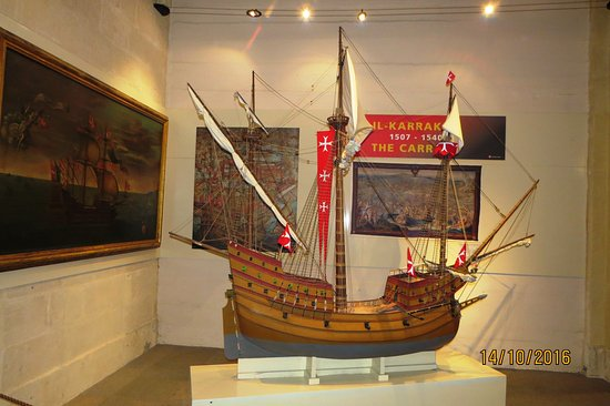 Birgu (Vittoriosa), Malta: Navire ancien
