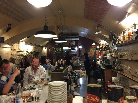 food lovers company charming busy tapas bar del pla
