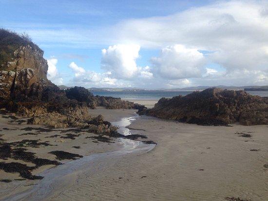 Portnablagh, Irlanda: Beautiful marble hill beach