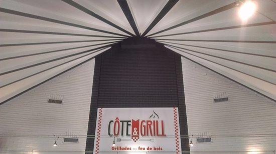 enseigne Côte&Grill a la Couronne
