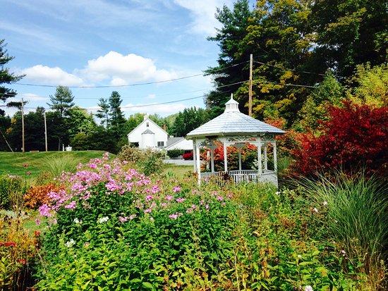 Williamstown, MA: Gazebo in the fall