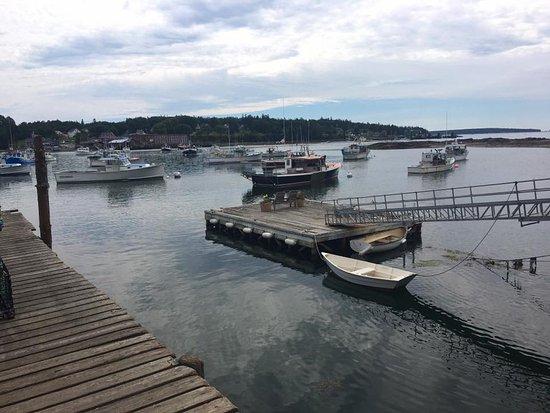 Bernard, ME: View from the wharf.