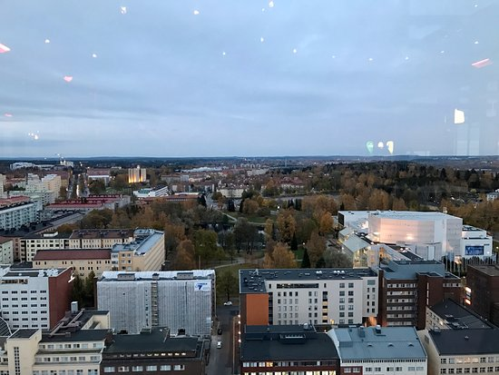 view - Picture of Moro Sky Bar, Tampere - TripAdvisor
