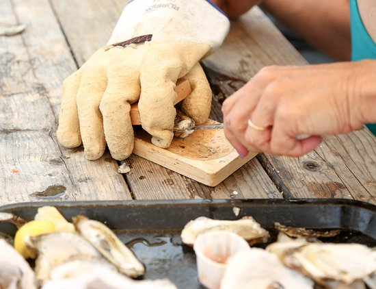 ‪‪Greenport‬, نيويورك: Learn to shuck your own or let the pros do it!‬