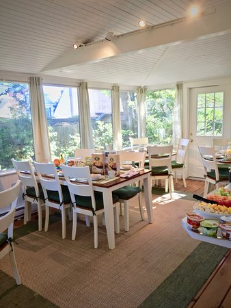 Newburyport, Массачусетс: Breakfast room