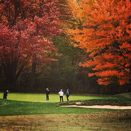Gaylord, MI: Gorgeous Fall Golf