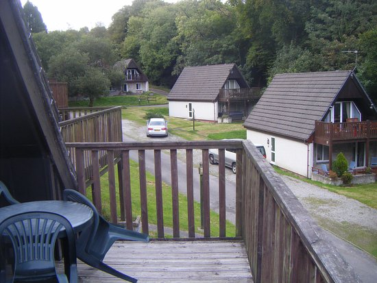 Gunnislake, UK: Balcony