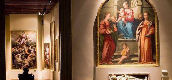Museo Nazionale di Villa Guinigi: Interno