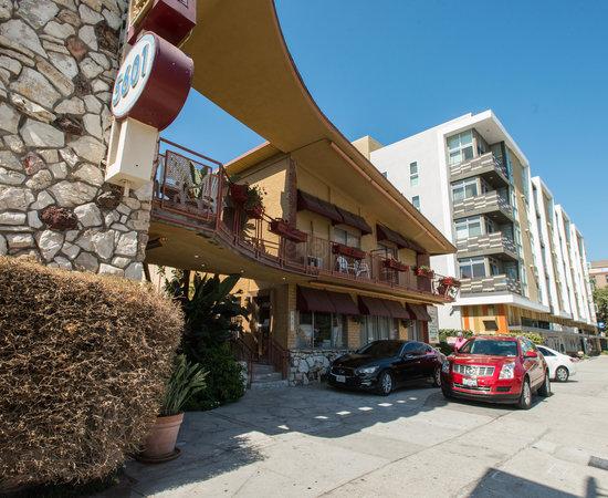 hollywood downtowner inn motel los angeles californie. Black Bedroom Furniture Sets. Home Design Ideas