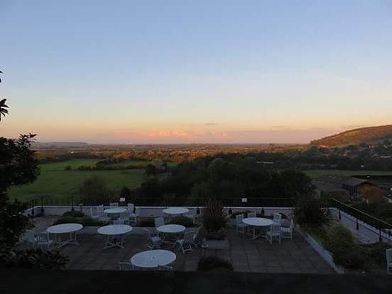 Axbridge, UK: View from Hotel