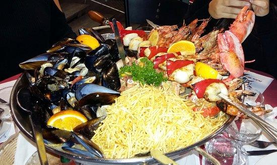 Athis-Mons, Γαλλία: plateau fruit de mer pour 2 personnes