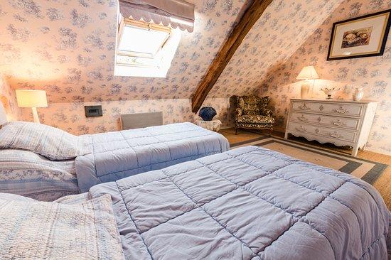 Semblancay, France: Chambre Du Bellay, 2 lits simples
