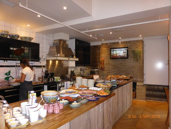 Bertrams Guldsmeden - Copenhagen: Bufet desayuno
