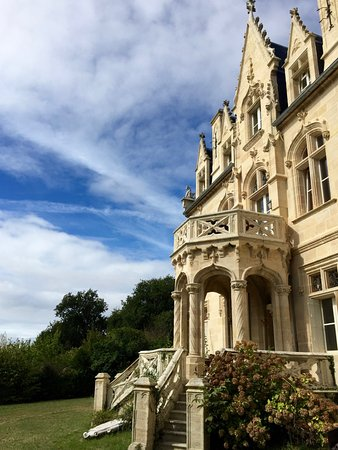 Plassac, Frankrig: Garden entrance