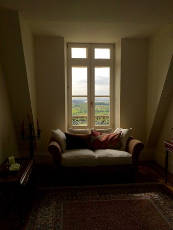 Plassac, Frankrig: View from a room to La Gironde