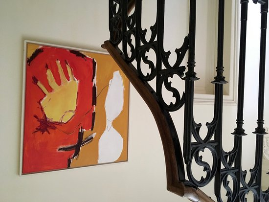 Plassac, Γαλλία: Detail of the stairs