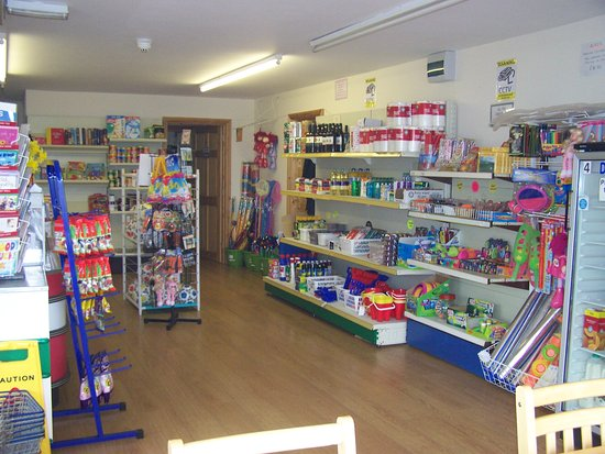 Borth, UK: shop