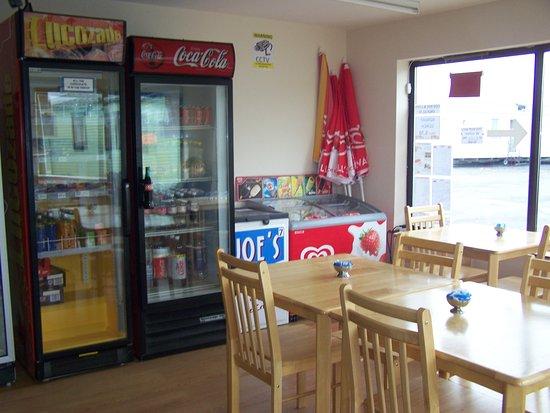 Borth, UK: coffee area