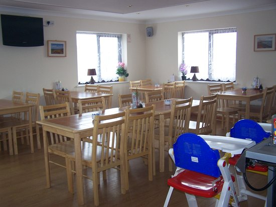 Borth, UK: dining area