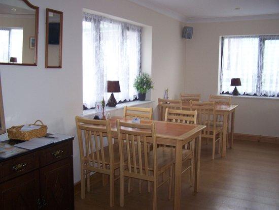 Borth, UK : dining area