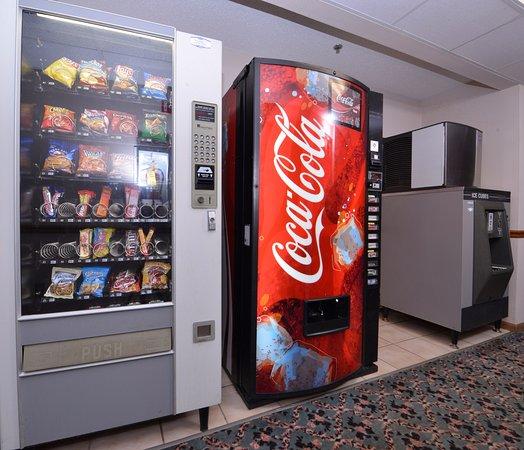 Wenona, IL: Vending Area